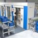 Lagerautomater, her en horisontal karusell (paternoster), bringer varene frem til plukkåpningen. Mest vanlig er vertikale automater som gjør at man kan utnytte takhøyden effektivt. Foto: Kardex Remstar